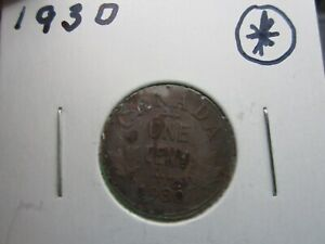 1930   CANADA   ONE CENT   CANADIAN PENNY