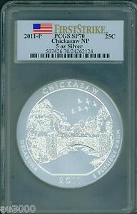 Click now to see the BUY IT NOW Price! 2011 P CHICKASAW AMERICA THE BEAUTIFUL ATB 5 OZ. SILVER PCGS SP70 FIRST STRIKE