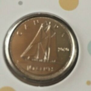 CANADA 2020 PROOF LIKE TEN CENT COIN SEALED IN MINT PLASTIC