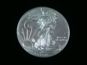UNITED STATES 2013 ONE OUNCE SILVER EAGLE BRILLIANT UNCIRCULATED NICE