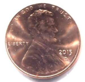 U.S. 2015 D LINCOLN UNION SHIELD PENNY UNCIRCULATED ONE CENT COIN   DENVER MINT