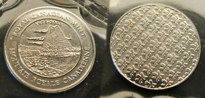 SEALED     1999P ROYAL CANADIAN MINT SEALED TEST COIN    COIN OF THE FUTURE