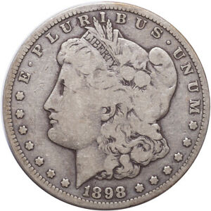 1898 S MORGAN SILVER DOLLAR