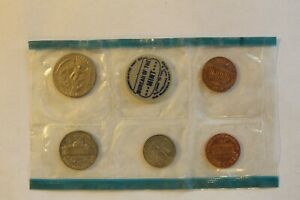 SEALED 1969 U.S. MINT SET U.S. MINT COIN QUARTER DIME NICKEL  2 PENNIES