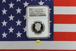 2013 S CLAD PROOF HALF   NGC PF70 ULTRA CAMEO   EARLY RELEASES  V347