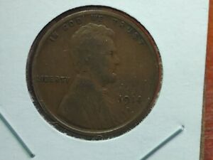 1914 D LINCOLN WHEAT PENNY CENT NICE ORIGINAL KEY DATE