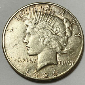 1926 S SAN FRANCISCO MINT SILVER PEACE DOLLAR GREAT COIN