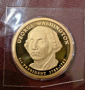 2007 S PRESIDENTIAL $1 PROOF   GEORGE WASHINGTON   1ST YEAR IN SERIES  H82
