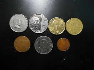 FOREIGN COINS LOT OF 7