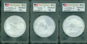 Click now to see the BUY IT NOW Price! 2014 P 5 COINS SET SMOKY ETC ATB 5 OZ. SILVER PCGS SP70 FS FIRST STRIKE MERCANTI