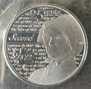 UNC CANADA 25 CENT QUARTER 2012 WAR OF 1812 LAURA SECORD FROSTED