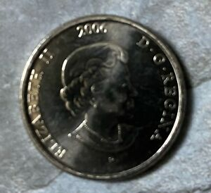 CANADA 2006 QUARTER CANADIAN 25C BREAST CANCER AWARENESS COLORED COIN