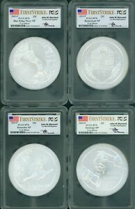 Click now to see the BUY IT NOW Price! 2015 P 5 COINS SET ATB 5 OZ SILVER PCGS SP70 FIRST STRIKES FS F.S. MERCANTI