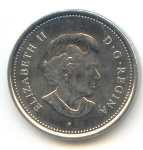 CANADA 2006 P FIVE CENT CANADIAN NICKEL 5C BEAVER EXACT COIN SHOWN
