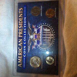 AMERICAN PRESIDENTS COIN COLLECTION LOOK AT PICTURES