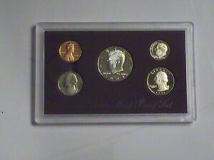 1991 S PROOF SET UNITED STATES US MINT ORIGINAL GOVERNMENT PACKAGING