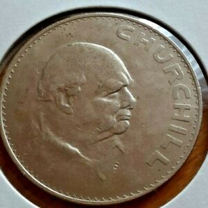 GREAT BRITAIN 1965 1 CROWN COIN