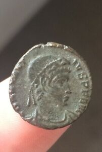 UNRESEARCHED ROMAN COIN METAL DETECTING FIND UK BRITISH 3 4TH C