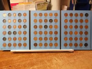 LINCOLN WHEAT CENTS COLLECTION 1909 1940    0810720   BETTER GRADES