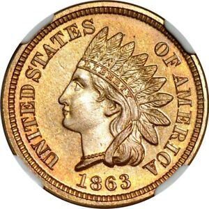 Click now to see the BUY IT NOW Price! 1863 1C INDIAN CENT NGC PR66  PHOTO SEAL