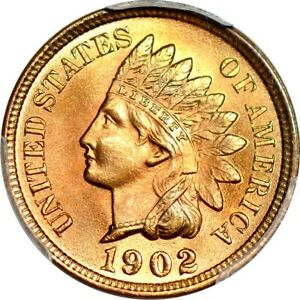 Click now to see the BUY IT NOW Price! 1902 1C INDIAN CENT PCGS MS67 RD