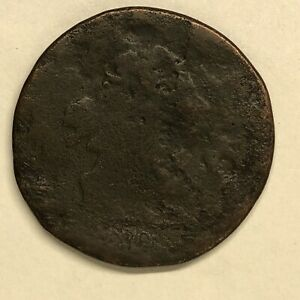 1806 DRAPED BUST HALF CENT C 4 LARGE 6 STEMS DAMAGED