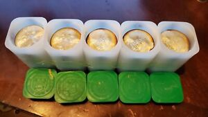 2014   1 TROY OZ SILVER EAGLE    5  20CT MINT TUBES   100 TOTAL