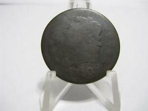 VERY  1810 CLASSIC HEAD LARGE CENT G/VG CONDITION   NFM538