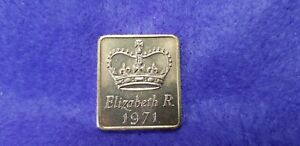@@@ A SUPERB 1971 ROYAL MINT TOKEN TAKEN FROM MINT SET @@@