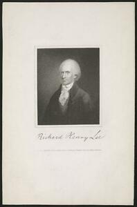 PHOTO:RICHARD HENRY LEE PETER MAVERICK JAMES B LONGACRE C1820 4639