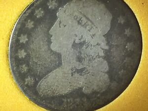 1831 CAPPED BUST QUARTER  MINTAGE 398 000 LARGE LETTERS IN BCW SLAB