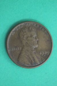 1929 S LINCOLN WHEAT CENT PENNY EXACT COIN SHOWN COMBINED SHIPPING OCE 75