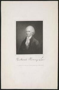 PHOTO:RICHARD HENRY LEE PETER MAVERICK JAMES B LONGACRE C1820