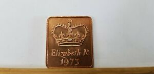 @@@ A SUPERB 1973 ROYAL MINT TOKEN TAKEN FROM MINT SET @@@