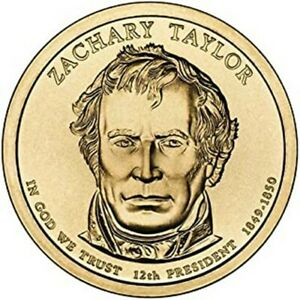 2009 D Z TAYLOR PRESIDENTIAL DOLLAR BRILLIANT UNCIRCULATED FROM MINT ROLL