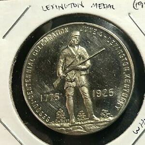 1947  LEXINGTON SESQUICENTENNIAL  COMMEMORATIVE BRILLIANT UNCIRCULATED