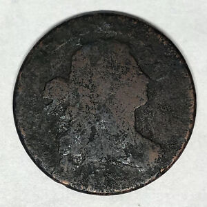 DATELESS 1801 1/000 DRAPED BUST LARGE CENT S 220 FRACTION ERROR REDBOOK VARIETY