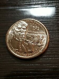 2018 D SACAGAWEA NATIVE AMERICAN GOLDEN DOLLAR UNGRADED