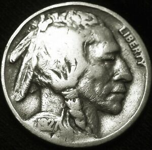 AFFORDABLE TOUGHER DATE 1927 S BUFFALO NICKEL 5 COMBINED S&H AVAILABLE GW20MP