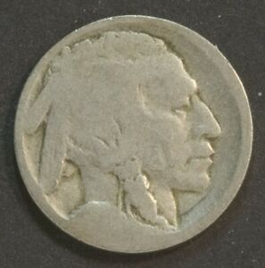 1913 D INDIAN HEAD BUFFALO NICKEL 5 CENT VARIETY I ON MOUND