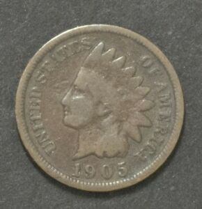 1905 INDIAN HEAD PENNY CENT
