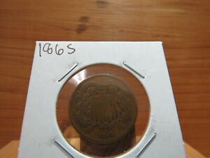 1865 2C TWO CENTS X6