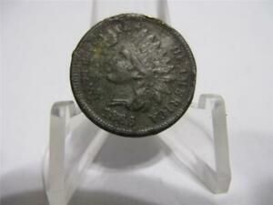 VERY  1866   INDIAN PENNY XF  COIN  NFM862