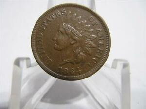 1864   WITH L  INDIAN PENNY PQ CHBU CONDITION  COIN    NFM860