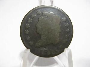LY  1814  CLASSIC HEAD LARGE CENT NICE GOOD CONDITION NFM817