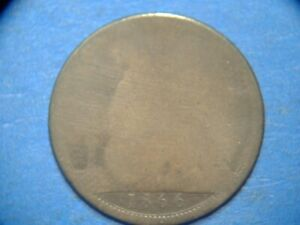 GREAT BRITAIN PENNY KM 749.2 1866    A1042    I COMBINE SHIPPING