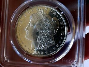 Click now to see the BUY IT NOW Price! MORGAN SILVER DOLLAR 1878 8 TF PCGS MS 62 PL VAM 14.16 WILD LIPS MEGA  CAMEO