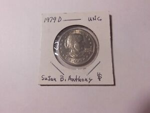1979 D SUSAN B. ANTHONY DOLLAR    UNCIRCULATED    FROM MINT CELLO