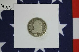 1825 CAPPED BUST DIME   GOOD CONDITION  Y54