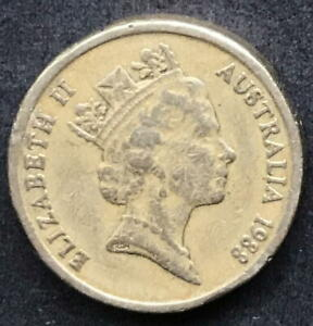 ORIGINAL 1988 AUSTRALIAN $2 TWO DOLLAR COIN   CIRC